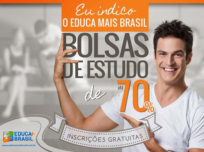 Educa Mais Brasil oferece 200 mil bolsas